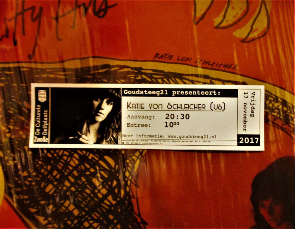 Ticket Katie von Schleicher