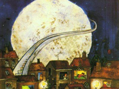 Uit de vaart Roltrap naar de maan